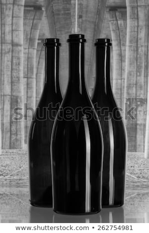 Three wine bottles under the highway bridge Stock photo © CaptureLight