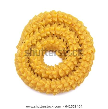 traditional indian diwali snacks chakali stock photo © tang90246