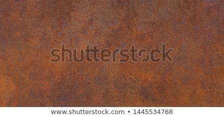 Rusty iron sheet Stock photo © Valeriy
