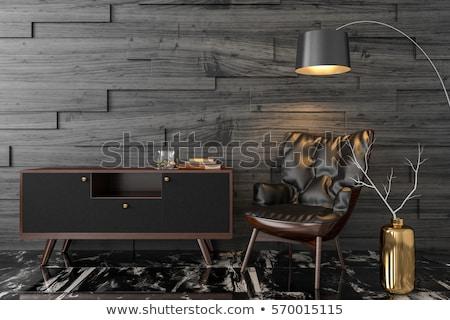набор · кожа · бизнеса · служба · дизайна · черный - Сток-фото © ozaiachin