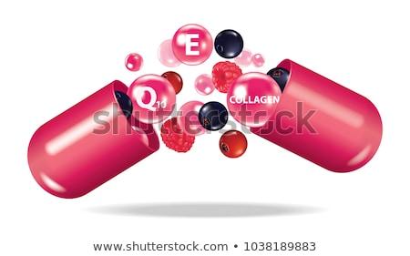 Injection Violet Vector Icon Design Stock photo © rizwanali3d