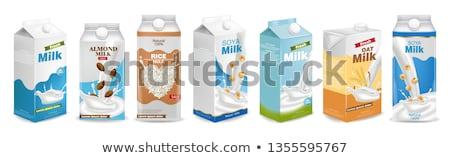 ミルク 実例 背景 ドリンク クリーン デザート ストックフォト © get4net