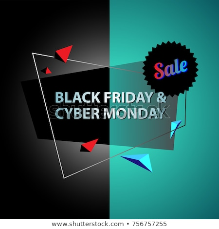 black friday sale written on a billboard stock photo © zerbor