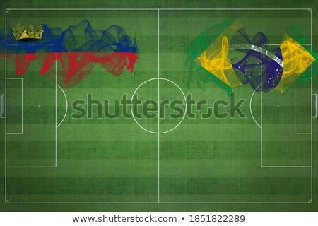 Brazil and Liechtenstein Flags  Stock photo © Istanbul2009
