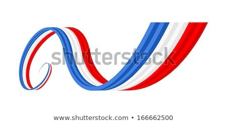 Francia bandera color azul blanco rojo Foto stock © hlehnerer