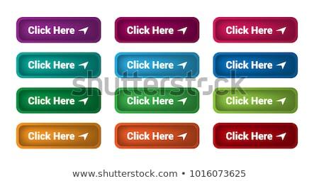Téléchargement ici bleu vecteur icône design Photo stock © rizwanali3d