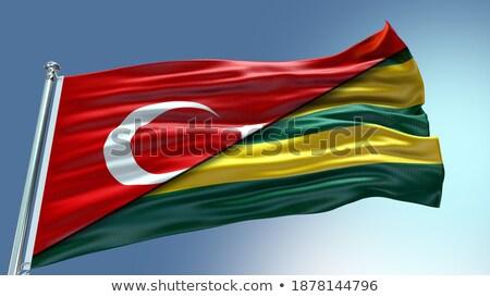 Turquia Togo bandeiras quebra-cabeça isolado branco Foto stock © Istanbul2009