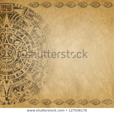Mayan wallpaper, illustration Stock photo © Morphart