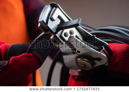 professional wire cutter on white stock photo © boroda