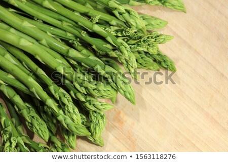 Fresh Green Asparagus Stock photo © PetrMalyshev