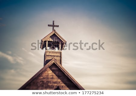 church / kleine Dorfkirche Stock photo © kk-art