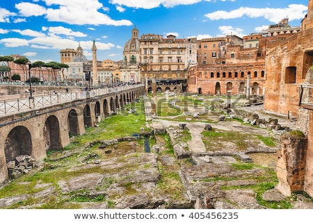 Trajan's Market (Mercati Traianei) in Rome, Italy Stock photo © vladacanon