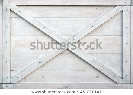 eski · ahşap · ahır · kapı · duvar · boya - stok fotoğraf © shawnhempel
