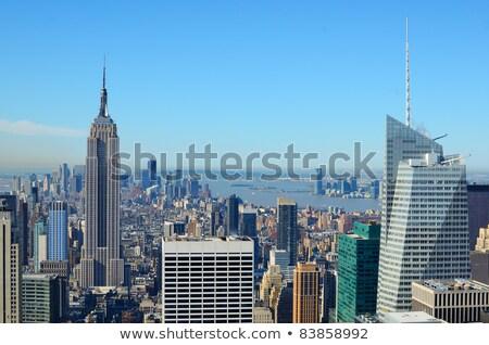 Нью-Йорк · Manhattan · общественного · библиотека · центра · бизнеса - Сток-фото © rmbarricarte