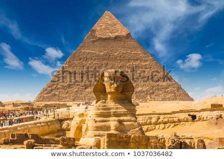 egypt sphinx face Stock photo © Mikko