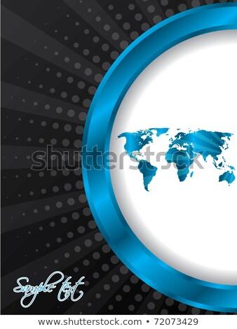 áspero · mapa · vetor · esboço · diagrama - foto stock © vipervxw