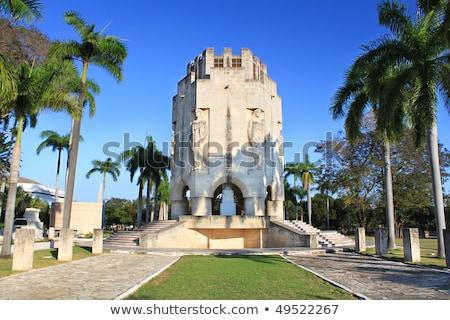 кладбище Сантьяго Куба украшенный красивой Сток-фото © Klinker