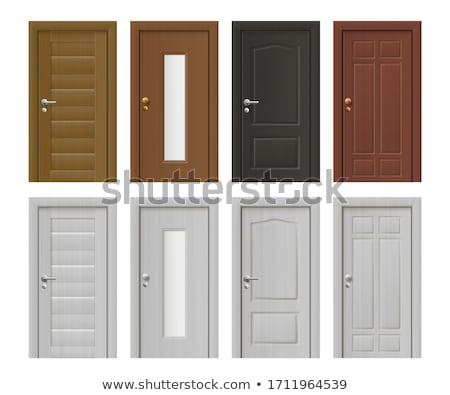 Different door designs vector illustration daniel cole for Different door designs