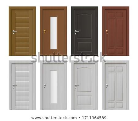 Different door designs vector illustration daniel cole for Different door designs