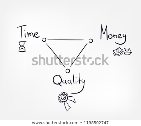 Время-деньги слово школы совета деньги фон Сток-фото © fuzzbones0