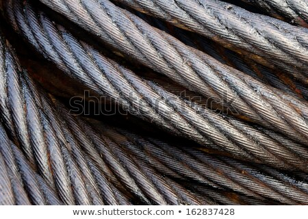 Diagonal strands of rope as background Stock photo © ozgur