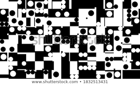 Gray and black music signs on white background, seamless pattern stock photo © Evgeny89