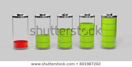 Elem alacsony szint izolált szürke 3d illusztráció Stock fotó © tussik