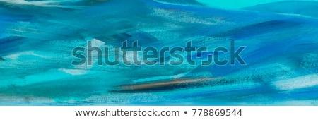 Vert noir matériel résumé carré texture Photo stock © saicle