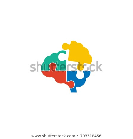 brain puzzle solution stock photo © lightsource