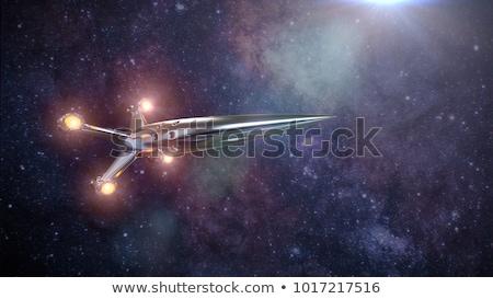 összeesküvés · 3D · felső · kalap · repülés · fejléc - stock fotó © idesign