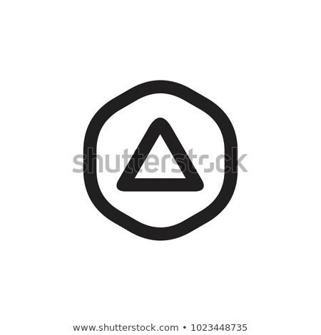 Símbolo del infinito dentro hexágono diseno icono asombroso Foto stock © user_11138126
