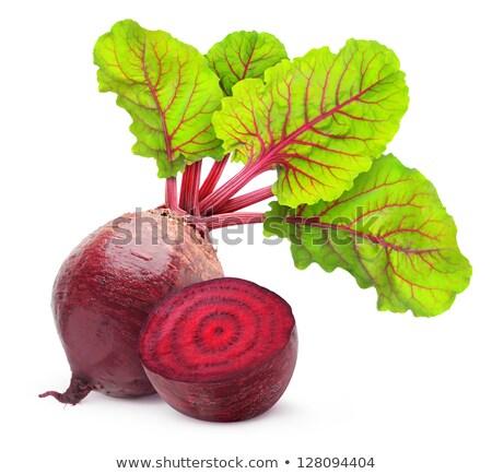 Taze pancar kesmek sebze sağlıklı organik Stok fotoğraf © Digifoodstock