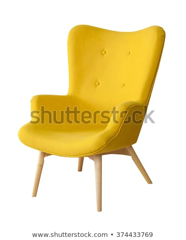 Stock photo: luxury chair isolated on white background