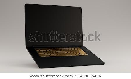 Criatividade inovação chave ilustração 3d moderno teclado Foto stock © tashatuvango