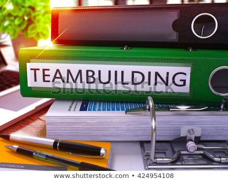 cooperazione · ufficio · immagine · 3D · legno - foto d'archivio © tashatuvango