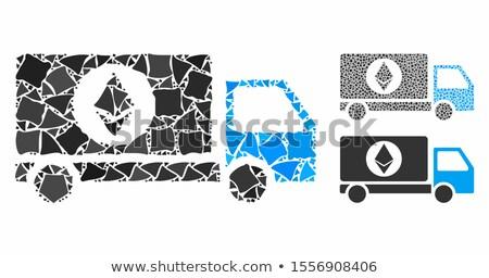 autó · bitcoin · pénzügyi · üzlet · üzlet · internet - stock fotó © ahasoft