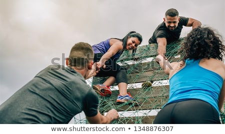 Overcoming obstacles Stock photo © anyunoff