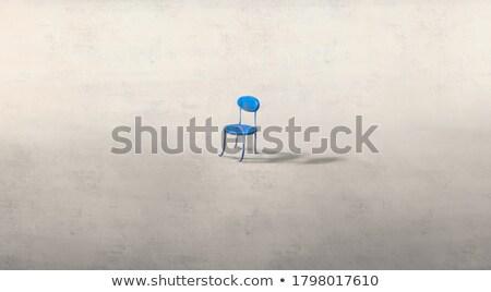 Yalnızlık üzüntü üzücü kadın ayakta Stok fotoğraf © Anna_Om