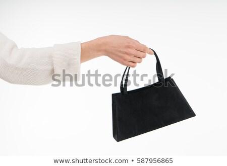 Kobieta zakupu torebka człowiek karty kredytowej mężczyzna Zdjęcia stock © IS2
