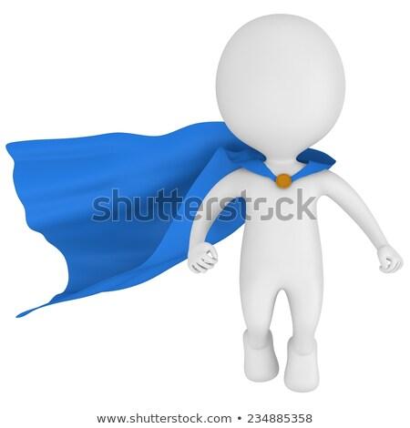 3d small superhero - levitation Stock photo © AnatolyM