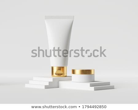 Smink szépségipari termékek profi smink keret fehér Stock fotó © neirfy