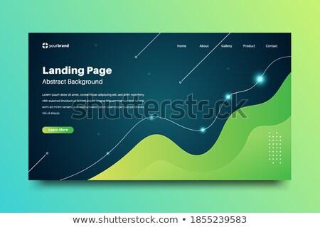 üzlet konferencia modern izometrikus vektor weboldal Stock fotó © Decorwithme