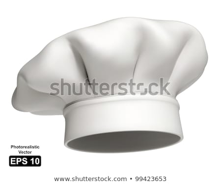 White chef hat 3D Stock photo © djmilic