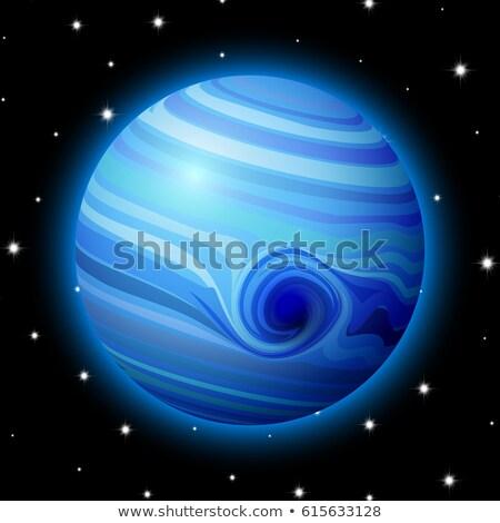 Gezegen uzay Yıldız parlak karikatür oyun Stok fotoğraf © SwillSkill