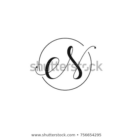 手紙 ロゴ マゼンタ 黒 アイコン シンボル ストックフォト © blaskorizov