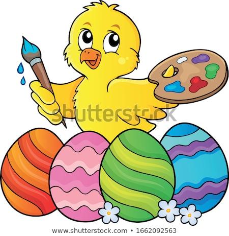 かわいい トピック 画像 自然 卵 芸術 ストックフォト © clairev
