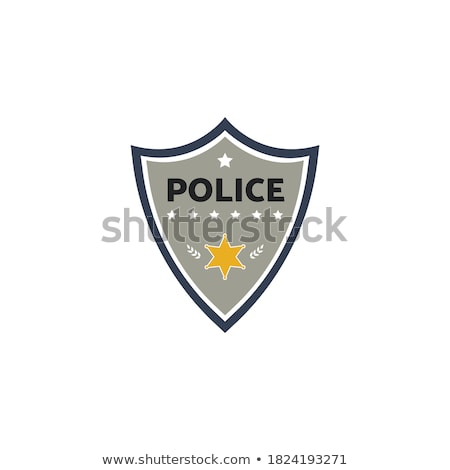 Sheriff in gray uniform Stock photo © colematt
