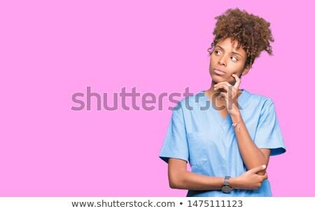 surgeon thinking stock photo © vladacanon