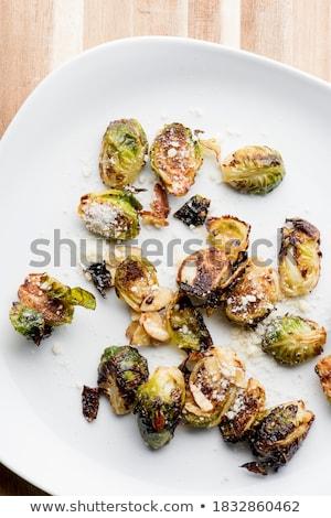 Biber zeytinyağı Çin sarımsak otlar baharatlar Stok fotoğraf © Melnyk