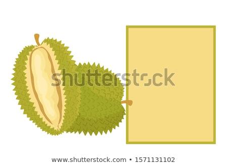 Egzotikus lédús gyümölcs szokatlan íz szöveg Stock fotó © robuart